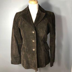 Genuine Leather Jacket Banana Republic